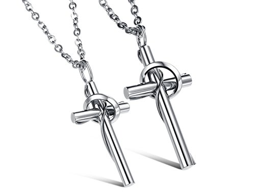 truecharms Stainless Necklace Couples Necklaces