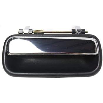Set of 2 Door Handles Chrome Exterior Rear Right Left For 89-95 Toyota 4Runner