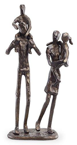 Parents Carrying Children Sculpture in Bronze - Finish Bronze Sculpture