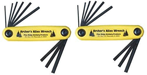 Pine Ridge Archery Archer's Allen Wrench Set (2-(Set))
