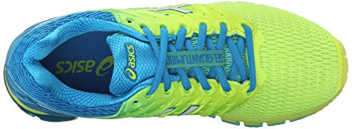 ASICS Women's Gel-Quantum 180 2 running Shoe, Safety Yellow/White/Blue Jewel, 8.5 M US by ASICS (Image #8)