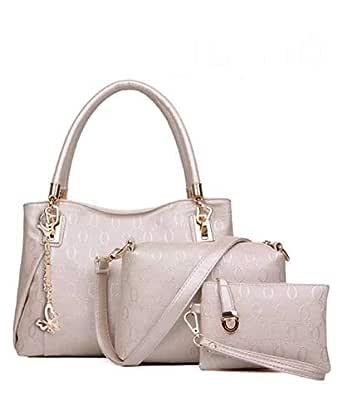 Bag For Women,White - Handbags Sets