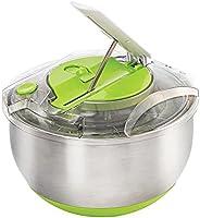 Centrífuga e Secadora de Saladas Fresh Inox/Verde 5 Litros