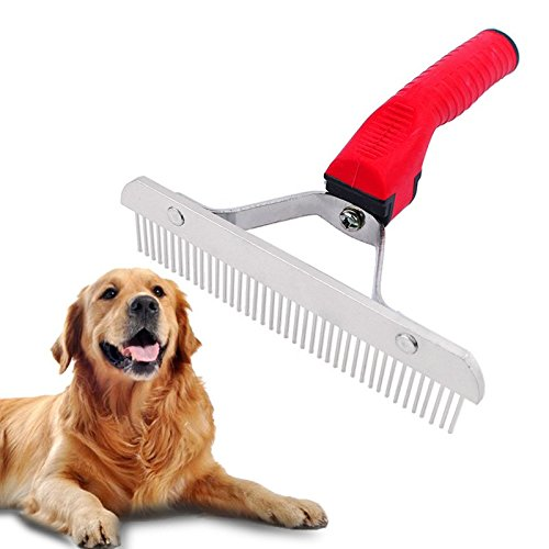 IBLUELOVER Practical Pets Comb Rake Grooming Brush Deshedding Tool Beauty Comb for Dogs Cats