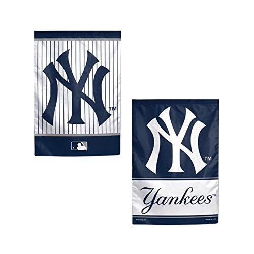 Yankees Garden - WinCraft MLB New York Yankees 12x18 Garden Style 2 Sided Flag, One Size, Team Color