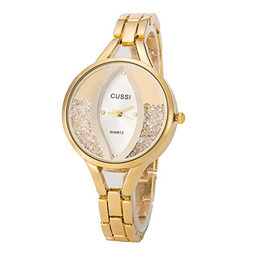 Crystal Bracelet Dress Watch - 1