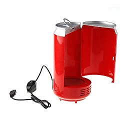 NAMEO USB Fridge, Portable Can-Shaped Beverage Drink Cans Cooler and Warmer (Can-Shaped)