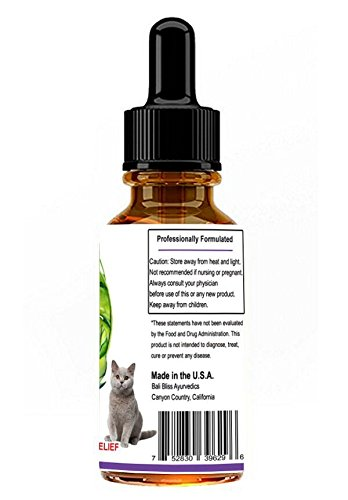 Full Spectrum Hemp+ Oil Pet Remedy for Dogs, Cats & Horses, 550mg's of Pain Releif, Separation Anxiety, Hip & Joint Health and More by Bali Bliss Ayurvedics