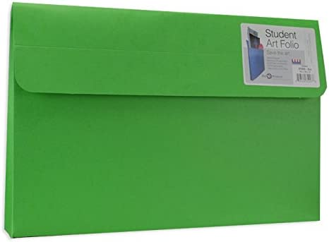 Star Products Student Art Folio Large Evergreen 5 Pack