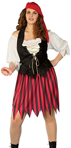 Forum Novelties Women's Plus-Size Buccaneer Bride Costume, Multi, X-Large]()