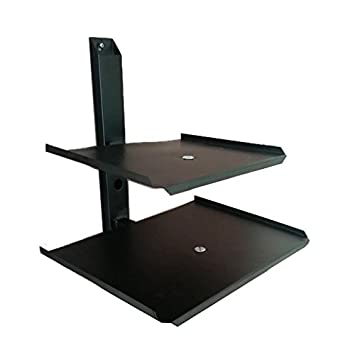 Buy Smart Shelter Double Deck Set Top Box Dvd Stabilizer Playstation Wall Mount Stand Online At Low Prices In India Amazon In