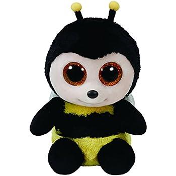 Amazon.com: TY Beanie Boos Buzby la Bumblebee felpa juguetes ...
