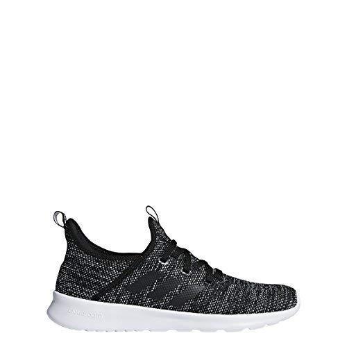 (adidas Performance Women's Cloudfoam Pure Running Shoe, Black/Black/White, 8.5 M)