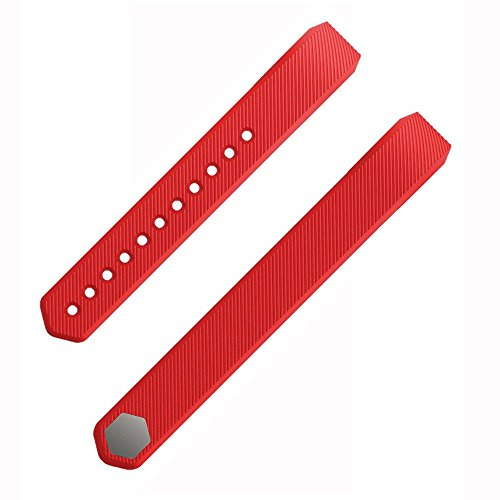 Etoper Silicone Accessories Replacement WristbandBandsSize Small Red