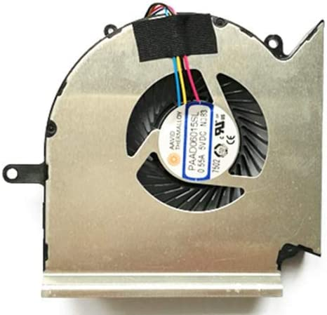 Not GPU !!! QUETTERLEE Replacement New Compatible MSI GE63VR MS-16P1 GE73VR MS-17C1 CPU Cooling Fan PAAD06015SL N383