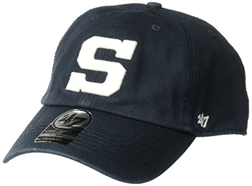 '47 NCAA Penn State Nittany Lions Brand Franchise Fitted Hat, Navy, Medium