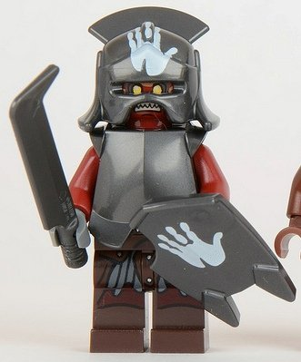 Lego Lord of the Rings Uruk-Hai White Hand Minifigure
