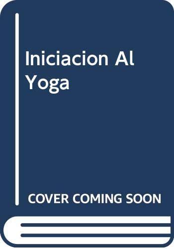 Iniciacion Al Yoga: Amazon.es: Jose Hermogenes: Libros