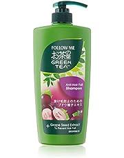 Follow Me Green Tea Anti Hairfall Shampoo, 650 ml