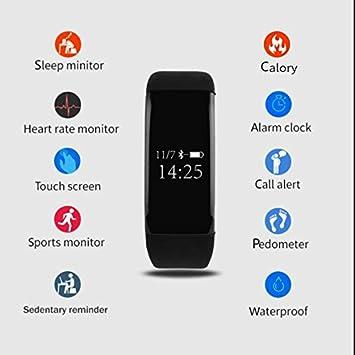 Tensiómetro Reloj Deportivo, Pulso Relojes Reloj deportivo, deportes reloj podómetro, Running Sport reloj