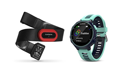Garmin Forerunner 735XT Midnight Blue & Frost Blue Run Bundle