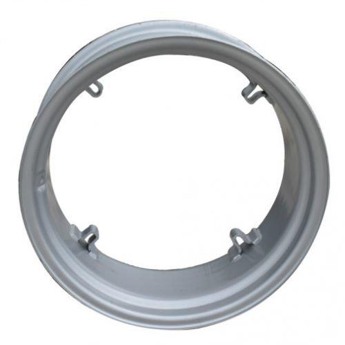 All States Ag Parts 10'' x 24'' 4 Loop Rear Rim Silver Mist International B 100 A Super A 130 140 Allis Chalmers B IB C by All States Ag Parts