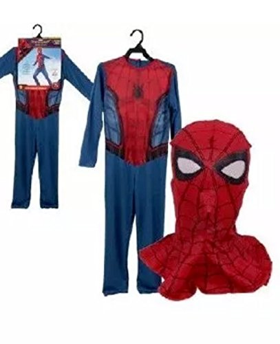 Rubie's Costume Marvel Spider-Man Homecoming Child's Costume and (Small for (4 to 6))