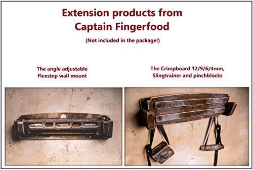 Captain Fingerfood Tabla de entrenamiento para escalada (180°)