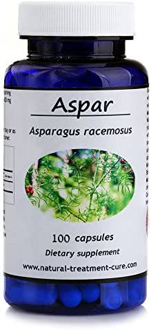Hekma Center Pure Root of Asparagus Racemosus - 100 Capsules for Female Reproductive System - Vegan