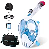 Full Face Snorkel Mask,Advanced Safety Breathing