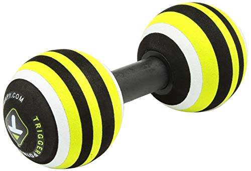 TriggerPoint MB2 Double Massage Ball Roller for Back and Neck Relief ()