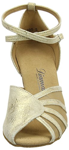 087 Tanzschuhe Gold Magic Ballroom Women's 017 Dance Diamant 020 Shoes Damen Gold Latein qxFvnZEI