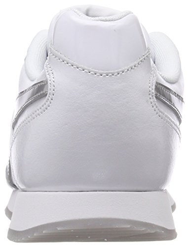 Damen Royal Silver Sneaker Glide Weiß Metallic Reebok White aPwgWUxCgq