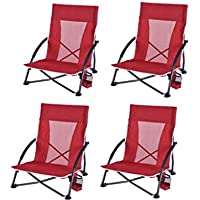 Ozark Trail Low-Profile Chair (4 packs)
