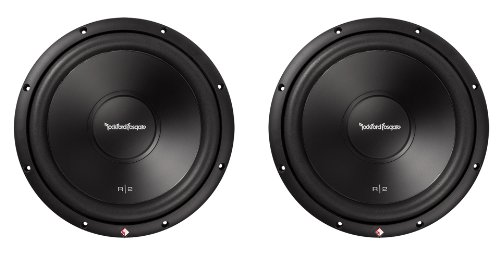 Rockford Fosgate Car Speakers And Subwoofers (2) Rockford Fosgate R2D4-12 Prime 12