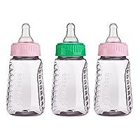 Gerber Graduates 78769 First Essentials Clear View Bottle, Slow Flow, 3 Count...