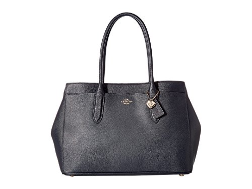 COACH Women's Bailey Carryall in Crossgrain Leather Li/Navy One Size