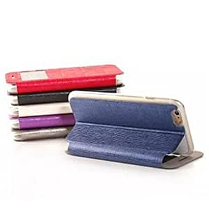 SOL Elombo Ultrathin Leather Hand Back Cover for iPhone 6(Assorted Colors) , Black