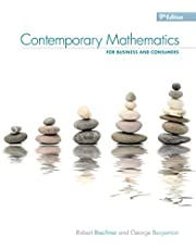 Contemporary Mathematics for Business & Consumers, 9th
