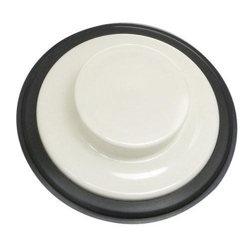 Flange White Disposer - InSinkErator STP-BIS Sink Stopper for Garbage Disposals, Biscuit