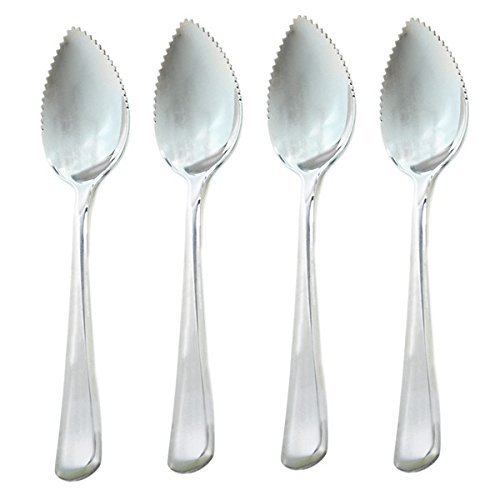 Norpro Stainless Steel Grapefruit Spoons, Set of 4 ()