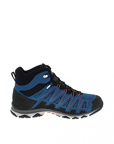 Meindl Schuhe X-SO 70 Mid GTX Surround Men - blau/orange Blau/Orange