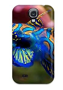 Waterdrop Snap-on Synchiropus Splendidus Luc Viatour Case For Galaxy S4 CSNVGOCXNW4D30IY