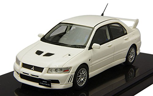 1/43 MITSUBISHI LANCER GSR EVOLUTION VII(スコーティアホワイト) W216