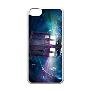 2015 Hot Tardis Doctor Dr Who Police Box Hard Back Case Cover For Iphone 5c TPUKO-Q792205