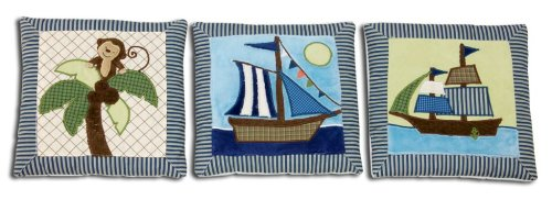 NoJo Ahoy Mate 3 Piece Wall Hanging Set