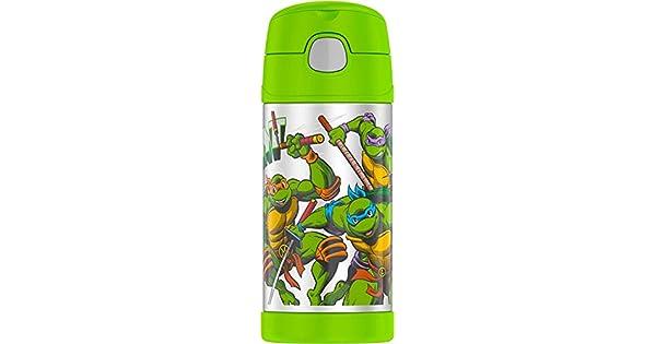 Amazon.com: Thermos Funtainer Botella de 12 onzas, Tortugas ...