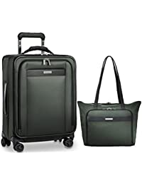 Transcend VX Expandable Tall Carry-On Spinner & Tote Set