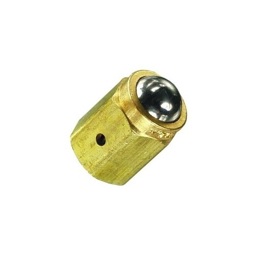 Clippard MBA-1 Ball Cam Actuator Permits The Valves and Electrical Switch to be Operated by Mechanical Movement Depressing The Ball from Any Direction