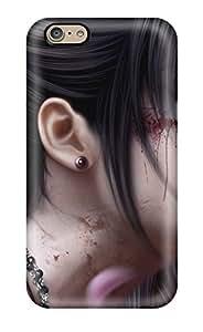 2015 Anti-scratch Case Cover Protective Female Samurai Case For Iphone 6